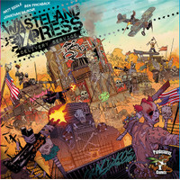 Wasteland Express Delivery Service Board Game ( Preloved )