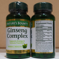 natures bounty ginseng complex support energy immune ori amric
