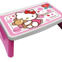 Meja Lipat Anak / Study Desk / Plastik Banyak Karakter / Merek Napolly