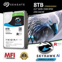 Seagate SkyHawk 8tb AI HDD / Hardisk Surveillance 8TB SATA 7200RPM AI