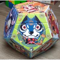 Rubik Twisty Puzzle - Zodiac Megaminx Cube