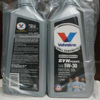 Oli Mobil / Oli Valvoline SYNPOWER Fully Synthetic 5W-30 API SN - 1 L