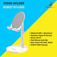 Stand Holder Tablet HP Robot RT-US05 | Docking Penyangga Ipad