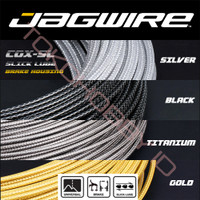 Kabel Luar Rem Sepeda Outer Housing Carbon Kevlar Slick JAGWIRE CGX SL - Carbon Black