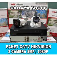 PAKET CCTV HIKVISION 4 CHANNEL 2 CAMERA 2MP KOMPLIT