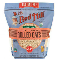 Bob's Bobs Red Mill Gluten Free Organic Quick Cooking Rolled Oat 794gr