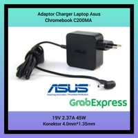 Adaptor Charger Laptop Asus Chromebook C200MA 19V 2.37A 45W