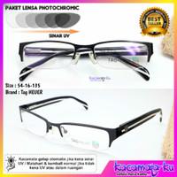 Kacamata Minus Plus Pria Wanita Half TH-8362 Paket Kacamata + Lensa