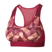Sports Bra Crivit Free Pad Abstract Print