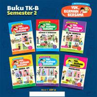 Buku Paket Tematika TK-B Semester 1 dan 2 (Terpisah)
