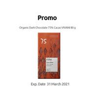 Vivani - Fine Dark 75% Cocoa with Coconut Blossom Sugar - 80 g