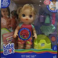 Baby alive Potty dance