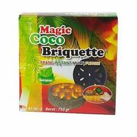 Arang instan Magic Coco Briquette Original Tipe A isi 2's 750gr