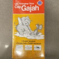 Lem Tikus Cap Gajah / Perangkap Tikus 1pack 3pcs 70gr Box