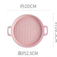 Piring Keramik Bulat Grill -101