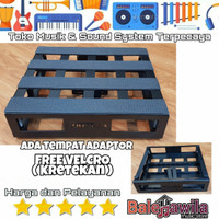 Board Pedal Tonebox Pedal Board Efek Gitar Tonebox Studio 35x32x8 cm