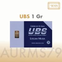 Emas UBS 1 Gram Logam Mulia, termasuk Sertifikat