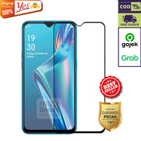 Samsung A12 Tempered Glass Anti Gores Kaca Full Lem 5D9D Screen Yes