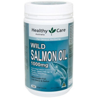 healthy care wild salmon oil omega 3 1000mg 500kapsul