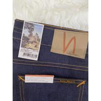 Celana Jeans Nudie Pria - Tilted Tor Dry Pure Navy - W31 L30