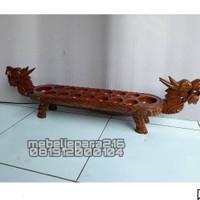 Dekorasi Congklak Dakon Naga Antiq