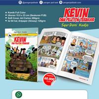 Komik KEVIN dan Peleton Terakhir Buku Anak Pleton PJB Pengen Jadi Baik