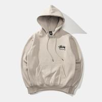 Stussy International hoodie Original unisex - Putih, M