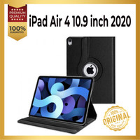 Ipad Air 4 2020 Rotary Kulit Leather Case 360 Flip Book Cover Standing