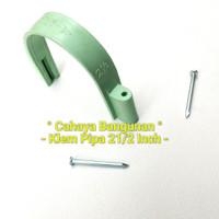 "Klem Pipa Air Pvc Peralon Pralon Rucika Arrow 2 1/2 21/2""Inch Inc In"