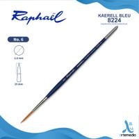 Kuas Lukis Raphael 8224 Long Detail Kaerell Bleu Synthetic Brush SH