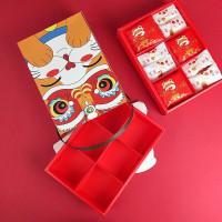 PAPER BAG SET IMLEK SEKAT 6 BOX IMLEK MERAH UNIK