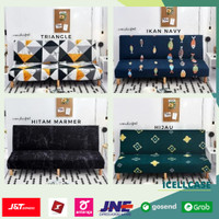Cover Sofa Bed Sofabed Sarung Penutup Sofa Sofabed 1 2 3 seater