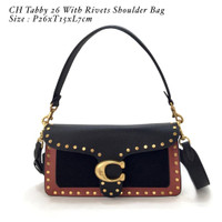 CH Tabby 26 With Rivets Shoulder Bag