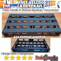 Board Pedal Tonebox Pedal Board Efek Gitar Tonebox Stage 60x32x8 cm