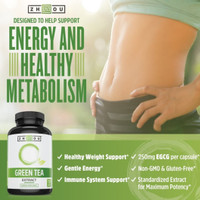 zhou green tea extract supplement with
