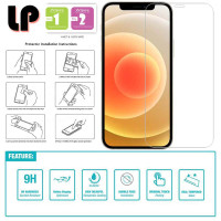 LP HD Tempered Glass iPhone 12 - 12 Pro 6.1 - Original Clear Ori Kaca
