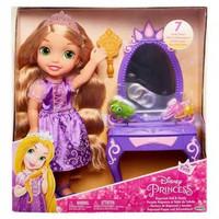 Boneka JAKKS Disney Princess Rapunzel Doll & Vanity original READY