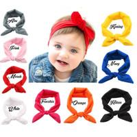 Bandana Bando Headband Pita Bayi Anak Baby Newborn Lucu Imut Cantik