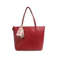 Tas Tote Les Catino Marvella Tote New Red With Scarf
