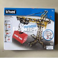 K'nex Control Crane Building Set - Working Motorized Crane