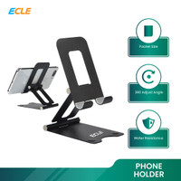 ECLE Phone Holder Tablet iPad iPhone Android Alluminium Anti Slip