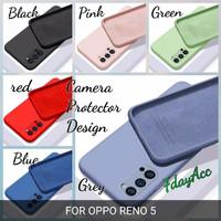CASE OPPO RENO 5 / RENO5 SOFTCASE CANDY SILIKON CASING ANTI NODA SOFT - pink