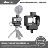 ULANZI G8-9 Vlog Case GoPro Hero 8 Vlogging Casing Frame + Cold Shoe