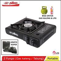 NIKO Kompor Gas Portable 2 in 1 - Kompor mini - kompor camping
