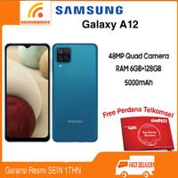Samsung Galaxy A12 Ram 6/128GB Garansi Resmi SEIN - Biru