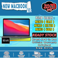 Macbook Air 2020 13 inch 512 GB M1 chip with 8 core CPU - 8 core GPU - Gold, Resmi INTER