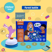 TweedyToys - Mideer Forest Battle Belajar Berhitung Montessori