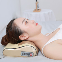Bantal Pijat Shiatsu Car Heat Neck Massage Leher Pillow JB-31
