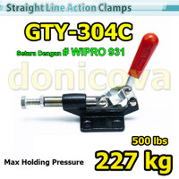Toggle Clamp Push Pull GH 304C GTY 304 C setara WIPRO 931 227kg