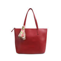 Tas Tote Les Catino Marvella Tote New Red/Pink With Scarf